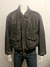 Avirex Type A-2 Drawing No 30-1415 Contract No 1978-01 USAAF Leather Jacket - XL