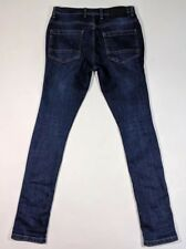 One True Saxon Mens Stretch Skinny Jeans W30 L32