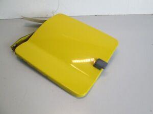 2000-2004 NISSAN XTERRA GAS DOOR FUEL FILLER DOOR Cap COVER OEM EW3 SOLAR YELLOW