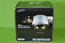 Samsung SNC-C7225 Anti-Vandal Weather Resistant 10X Zoom Mini SmartDome Camera