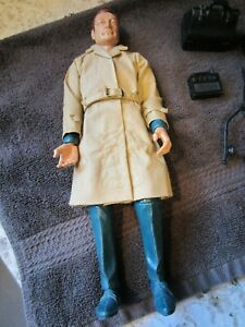 Vintage Collectible Marx Mike Hazard Double Agent Spy with accessories