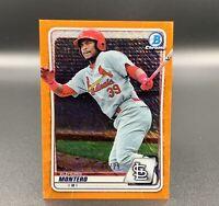 Elehuris Montero /25 Bowman Chrome Orange Refractor BCP-171 RC STL Cardinals MLB