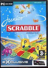 Junior scrabble interactif édition PC rom jeu