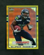 2015 Tyler Lockett Topps Chrome Gold Super Rookie RC /75 SP Seahawks