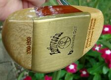 LOUISVILLE GOLF EARTHWOODS TIMELESSS TIMBER MALLET PUTTER NEW WITH HEADCOVER