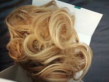 Easy hair extension! Ballerina Musk Stranded Hair Scrunchie Hairpiece Wrap Updo