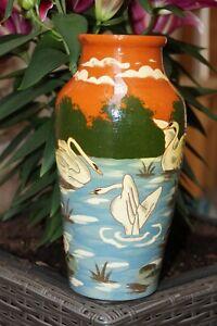 schöne PAW 476 6 Jugendstil Vase von Paul und Anna Wranitzky, Böhmen