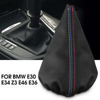 Soufflet Couverture Pommeau Levier Vitesse Cuir PU pour BMW E30 E34 Z3 E46