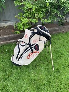 Ladies Callaway Golf Stand/Carry Bag Signed By Ryder Cup Player Oliver Wilson