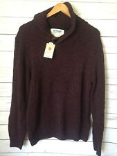 URBAN PIPELINE Mens Sweater Pullover Shaker Shawl Collar Size Large NWT