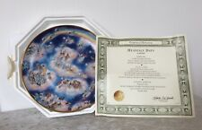 Franklin Mint By Bill Bell Limited Edition Collectors Plate - Heavenly Days