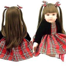 Reborn Baby Girl Princess Toddler Realistic Doll Gift Toy Handmade Lifelike Aliv