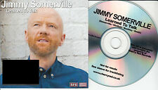 JIMMY SOMERVILLE Learned To Talk 2015 UK 1-track promo test CD