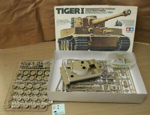 1:35 Tamiya Tiger 1 Otto Carius mit EZG Academy teilweise gebaut