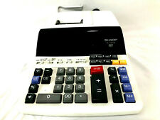 Sharp EL-1197PIII Printer Calculator Adding Machine Two-Color 12 Digit