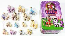 ©Simba/Dracco FILLY PRINCESS ♥ Tinbox mit 14 Filly Prinzessinen BLECHDOSE/BABYS