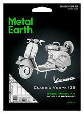 Fascinations Metal Earth 3D Steel Model Kit - Classic Vespa 125 Motor Scooter