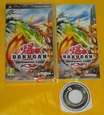 BAKUGAN DEFENDERS OF THE CORE Psp Versione Italiana 1ª Edizione •••• COMPLETO