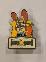 Judy Hopps Zootopia 2017 Flower And Garden Festival LE500 Disney Pin