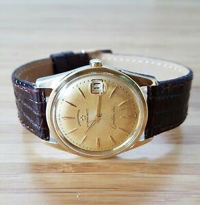 Eterna-matic Centenaire Chronometre gents watch 1969, Rare piece! Cal 1499U