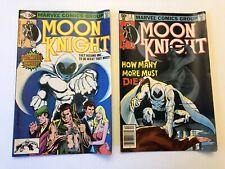 Moon Knight 1 2 3 4 5 6 7 8 9 Complete Comic Lot Run Set Marvel EXCELSIOR BIN