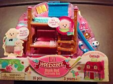 Woodzeez Bunk Bed Bedroom Set 16 Piece New 3 plus Years