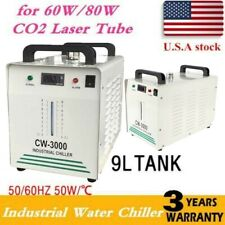 CW3000 Industry Water Chiller for 60W 80W Laser Tube Engraver Cutter 110V