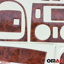 Wooden Design Dashboard Console Trim Cover Kit 27 Pcs For VW Amarok 2010-2020