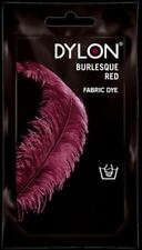 Dylon Fabric & Clothes Dye Burlesque Red Hand wash use 50g / 1.75oz