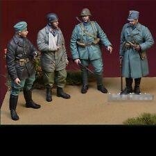1:35 Dutch Infantry World War 2 (WW2) 4 Figures Resin Model Kit
