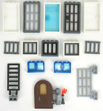 Lego - 60596 60594 61345 64390 - Window Door Frame Bars + Extras - 15+ Pieces