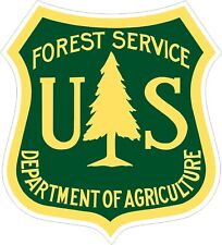 U.S. Forest Service Decals / Stickers