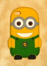 despicable me 2 GREEN minion apple iPhone 4/4s case cover silicone usa seller