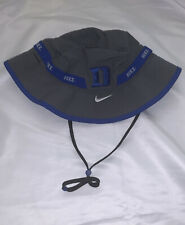 Men's Duke Blue Devils Nike 2-Tone Sideline Performance Bucket Hat NWT Large