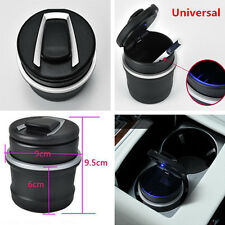 1x Universal Two-Layer Ashtray Ash Combo Tray Storage Cup For Auto Car SUV Truck