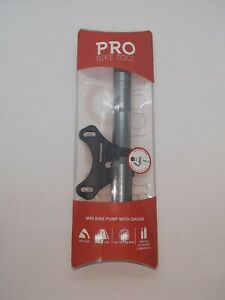 Mini PRO2 Bike Pump Presta//Schrader Light Aluminum Mountain Road Bikes