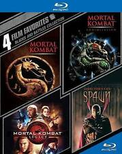 Blades and Battles Collection: 4 Film Favorites (Blu-ray) Mortal Kombat, Spawn