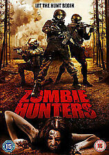 Zombie Hunters (DVD, 2012)new & factory sealed region 2