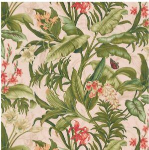 Waverly Wailea Coast Duck Hibiscus Fabric
