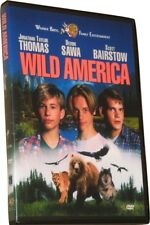 WILD AMERICA DVD (1997) - Region 1 USA Widescreen - Jonathan Taylor Thomas