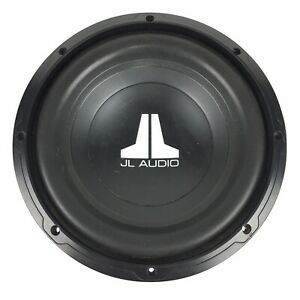 JL Audio 10w0v2-4 10 in Subwoofer 4 Ohm Impedance