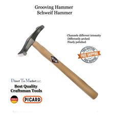 Picard Grooving  hammer 017501-0375 Goldsmith, Tinsmith, Jeweler, Armor Maker