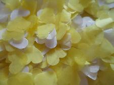 8000+ Giallo & Bianco Cuori/Coriandoli/Feste/Celebrazione Decorazione/bio