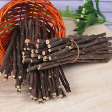 Cy_ Apple Wood Chew Sticks Twigs for Small Pets Rabbit Hamster Guinea Pig Toy Ne