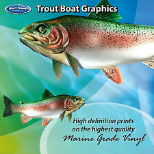 Trout Graphics - set of 300mm Boat Graphics