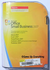 Microsoft Office Small Business 2007 UPGRADE Version (NEW)