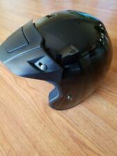 Adult Fulmer Motorcycle Half Helmet DOT Approved Removable Visor w/ Air Vent S