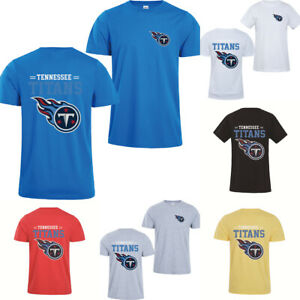 Tennessee Titans T-Shirt Summer Short Sleeve Casual Cotton Tee Top Gift For Fans