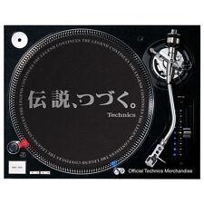 Slipmat Technics DMC The Legend Continues / Black (1 Stück / 1 Piece) NEU!