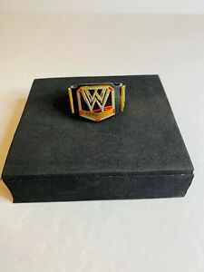 WWE Title Belt Elite Mattel Accessory World Heavyweight Championship Red Diamond